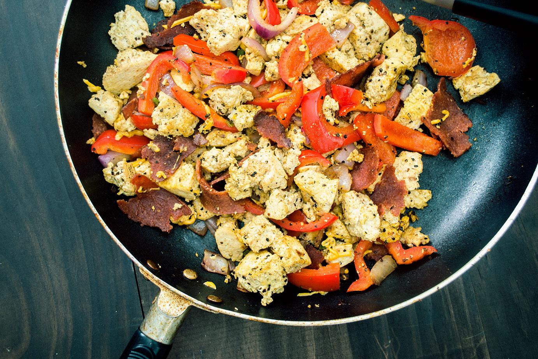 vegan tofu scramble