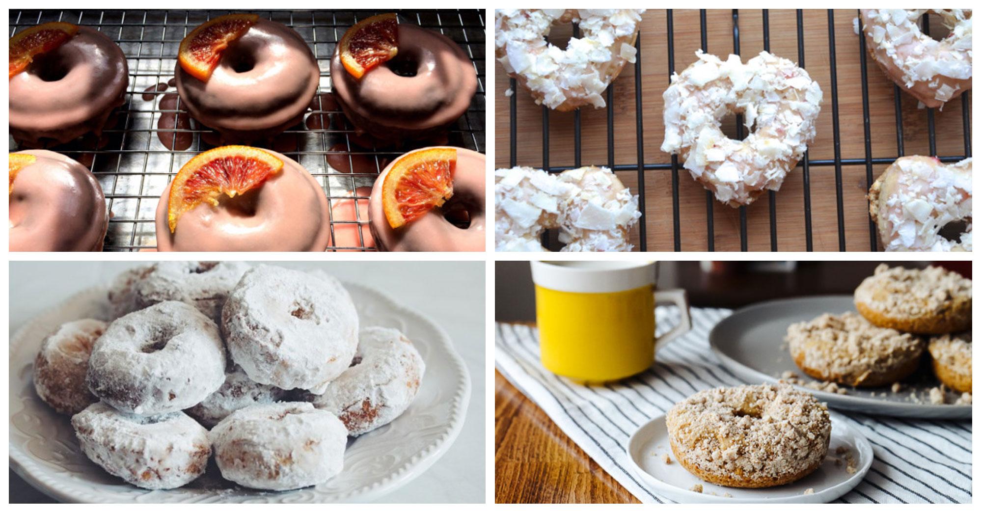One Dozen Vegan Doughnut Recipes