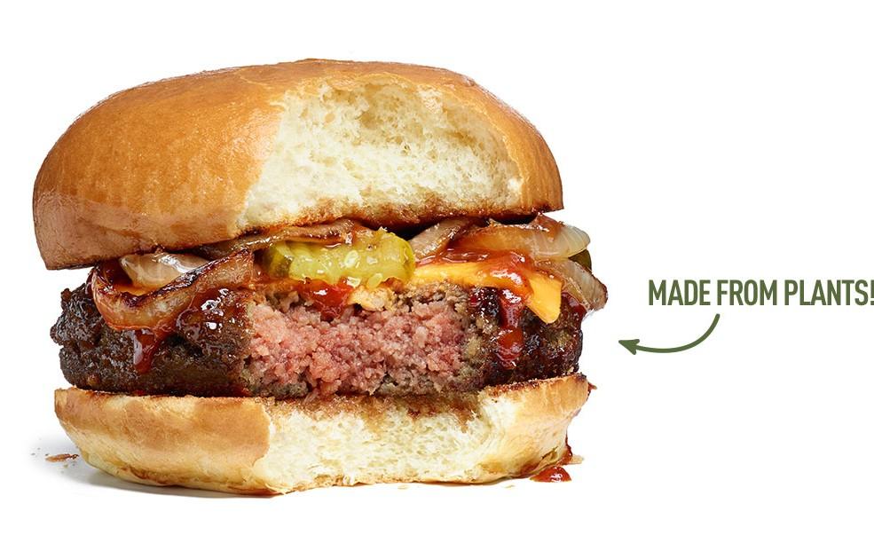 veggie burger that bleeds