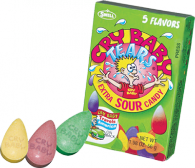 cry baby candy vegan