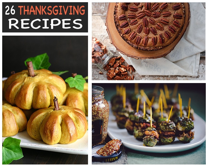 vegan thanksgiving recipes to give thanks for