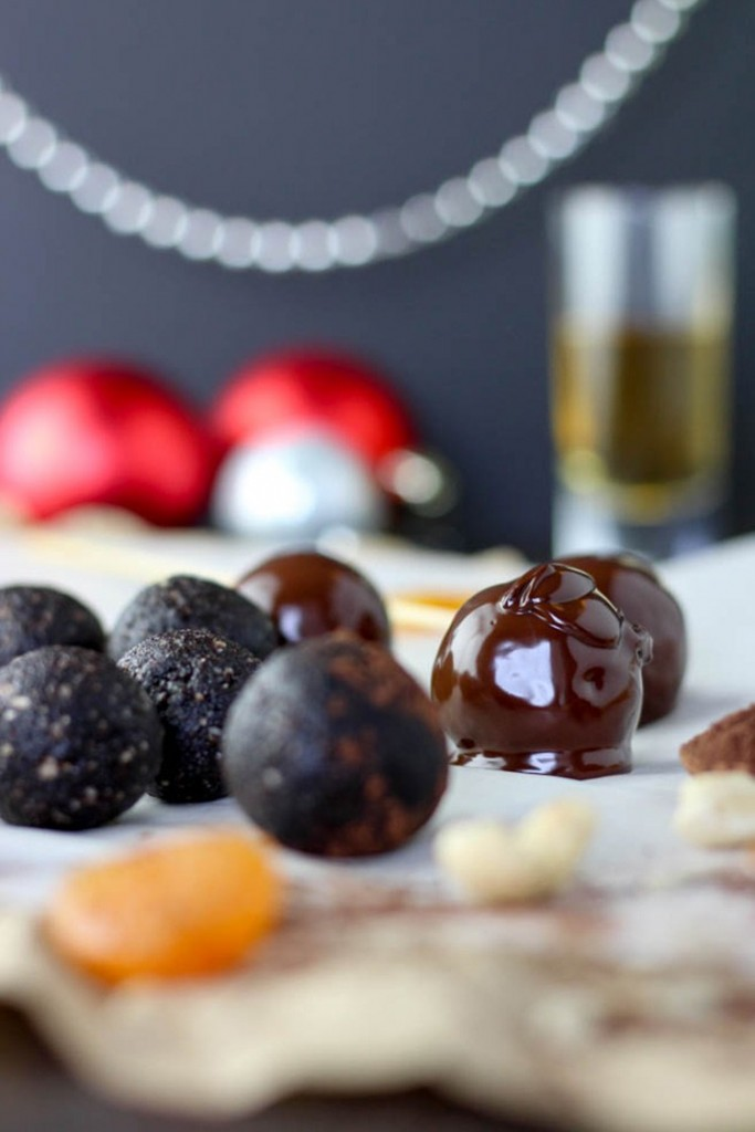 Chocolate Whiskey Truffles