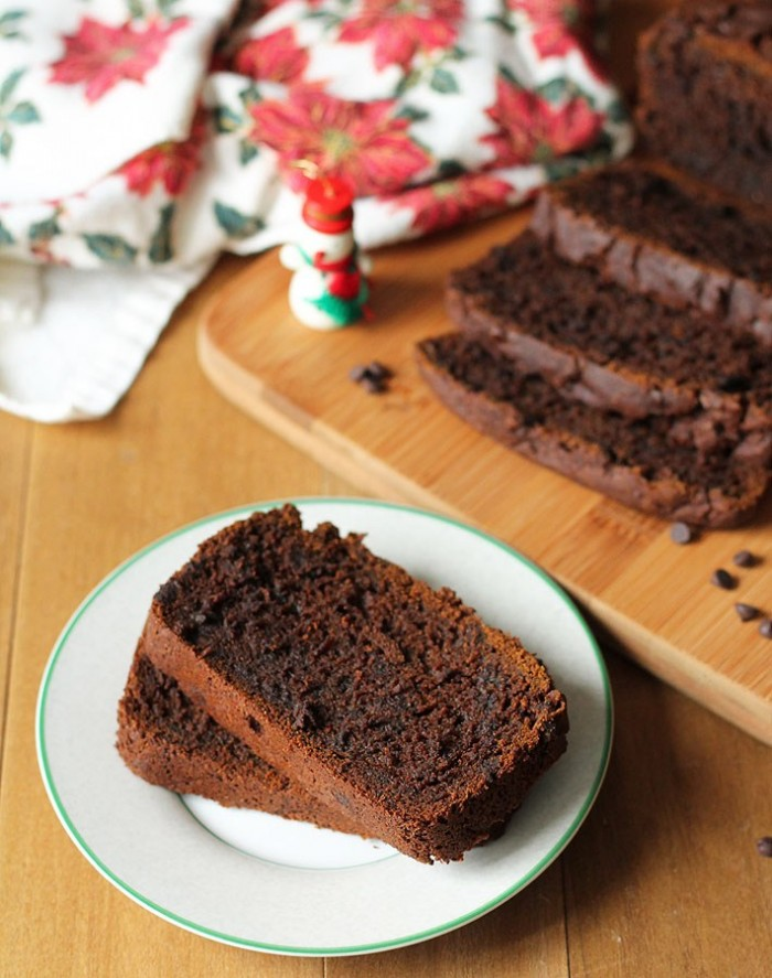 Vegan Gluten Free Gingerbread Loaf