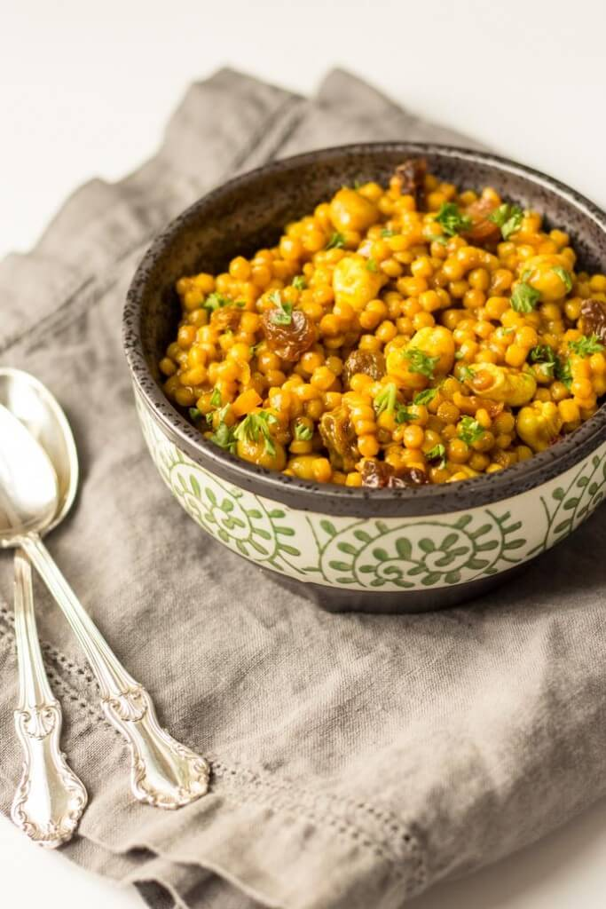 Curried Israeli Couscous