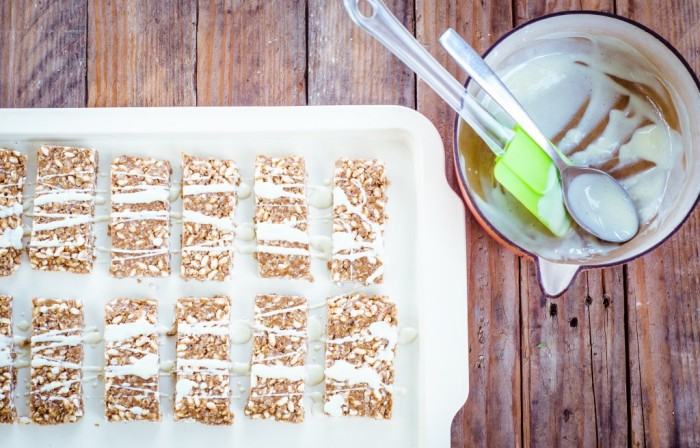 Peanut Butter and Brown Rice Granola Bars