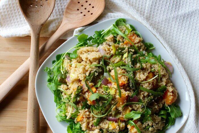 Roasted Butternut Couscous Salad