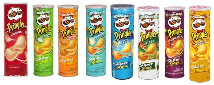 Which Pringles flavors are vegan?