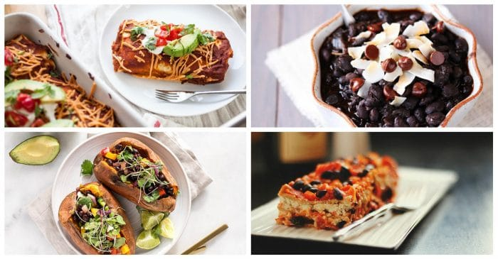 12 Beautiful Vegan Black Bean Recipes