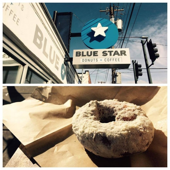 Blue Star Vegan Doughnuts