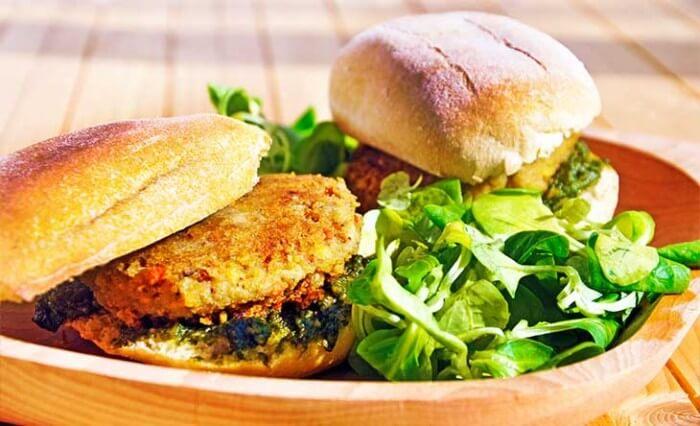 Green Chickpea Sandwiches