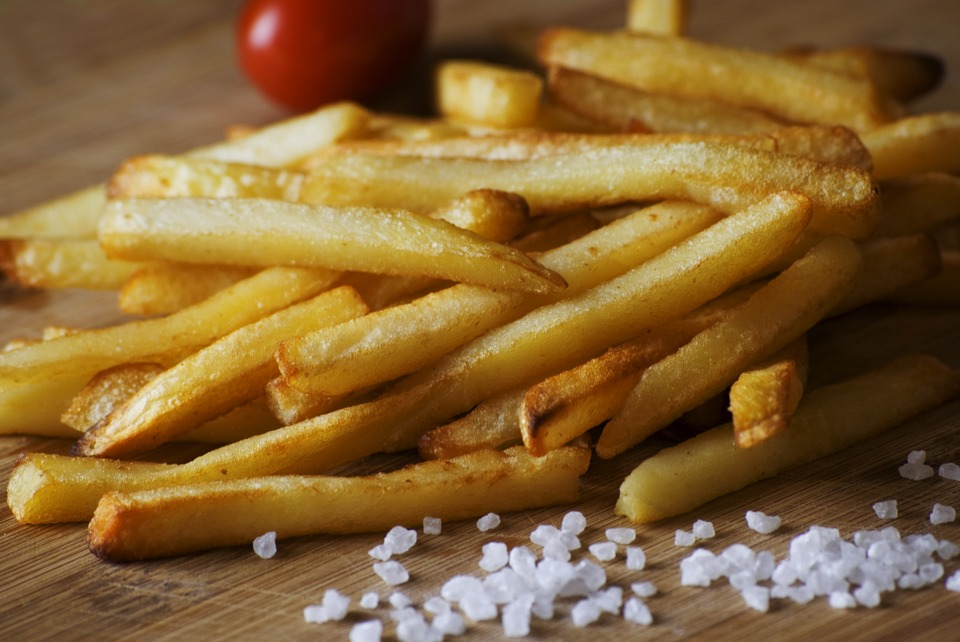 Vegan French Fries At Fast Food