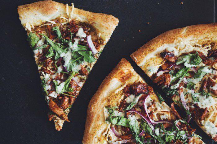 BBQ Chikun Pizza with Ranch