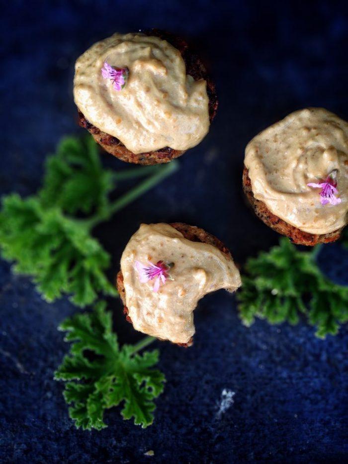 Banana Cauliflower Muffins