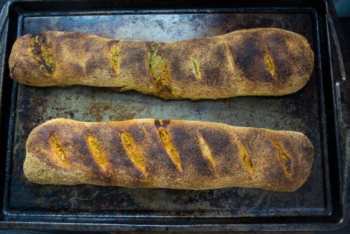 Vegan-Stromboli