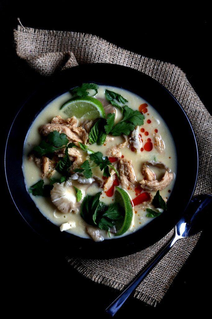 Vegan Tom Kha Gai
