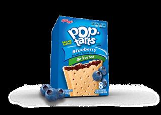 blueberry pop tarts vegan