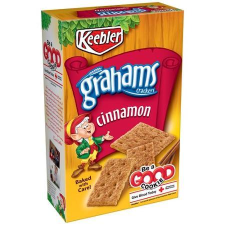 keebler cinnamon graham crackers vegan