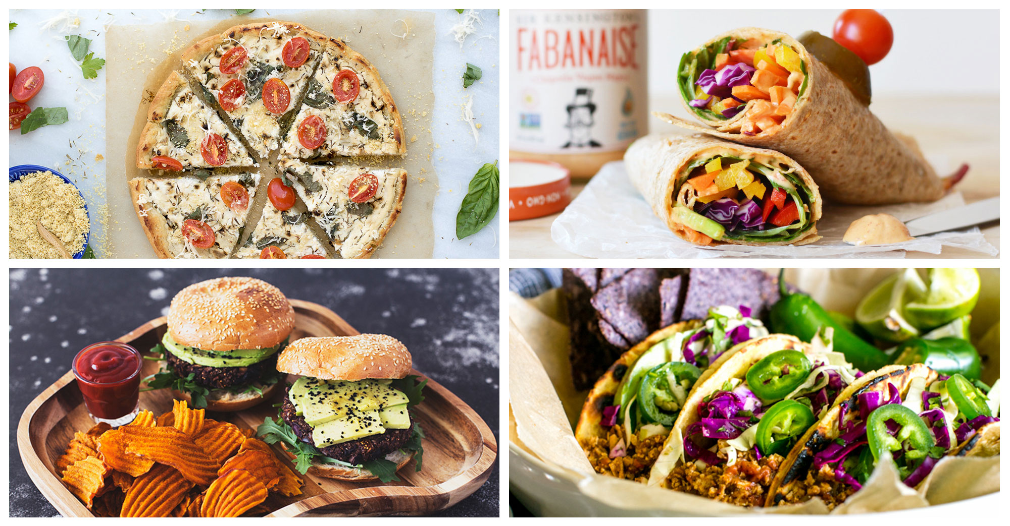 51 Vegan Lunch Recipes – Soups, Salads, Sandwiches & More!