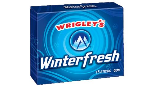 Winterfresh vegan gum
