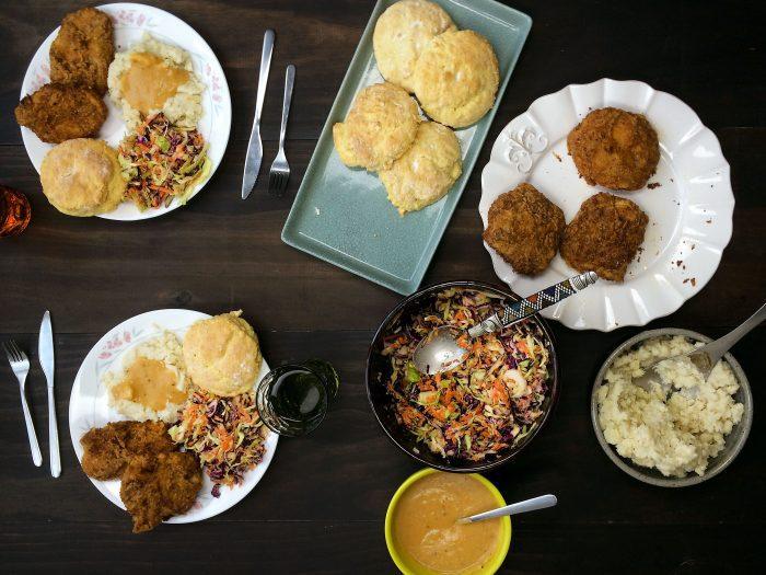 vegan-kfc-family-feast-fried-copycat-recipe