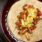 vegan chili cheese fries burritos