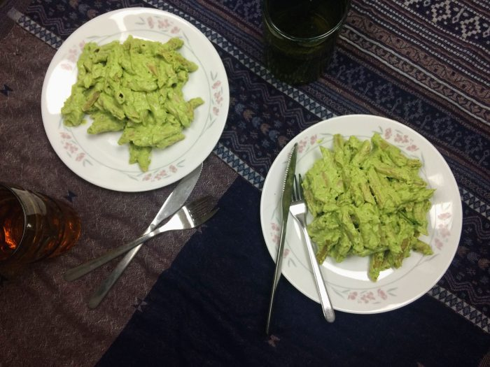 Green Pasta Penne