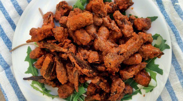 Spicy Buffalo Fried Okra