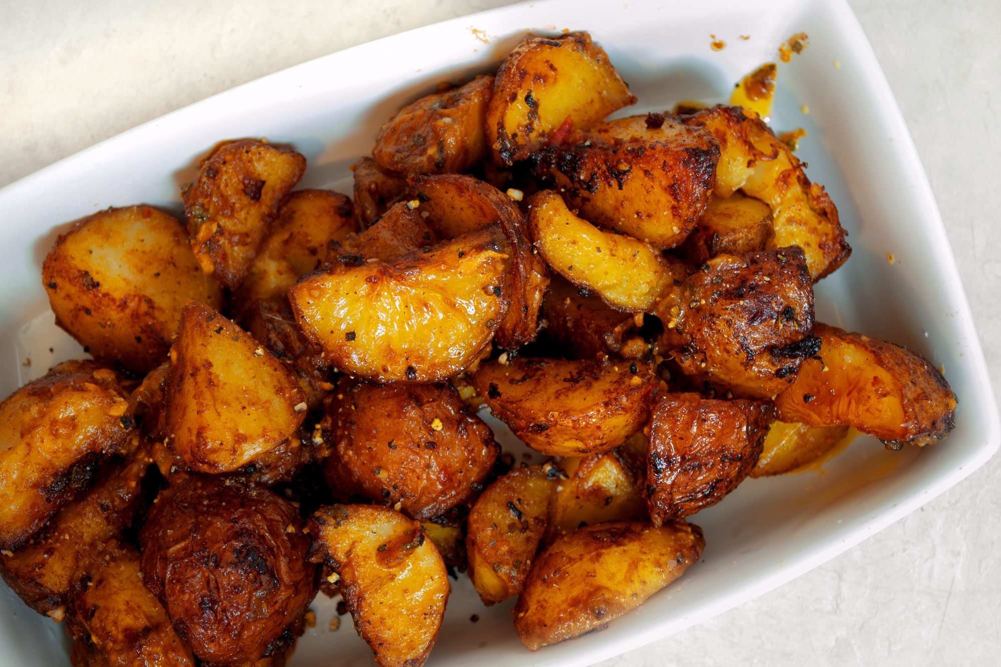 caramelized roasted potatoes