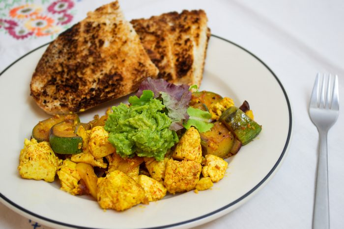 perfect tofu scramble