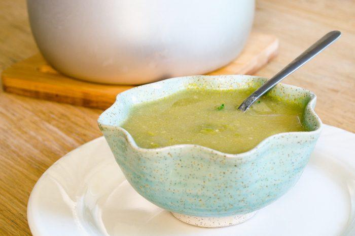 easy vegan split pea soup recipe