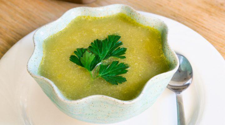 Dead Simple Split Pea Soup (Rice Cooker Method)