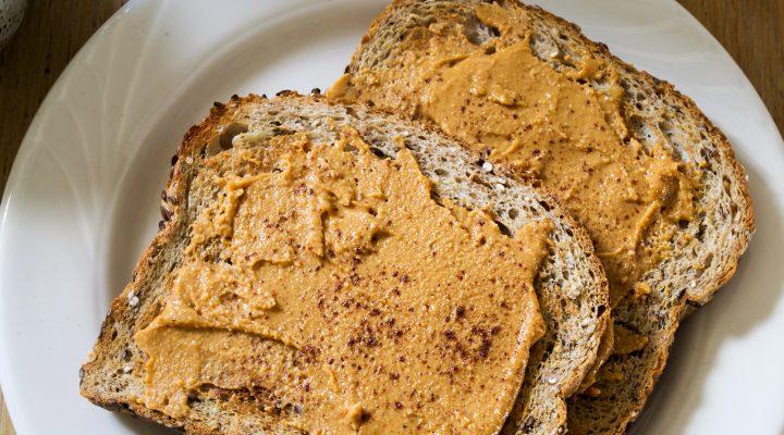 Homemade Spiced Peanut Butter