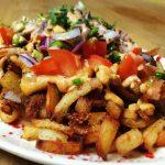 vegan loaded fries