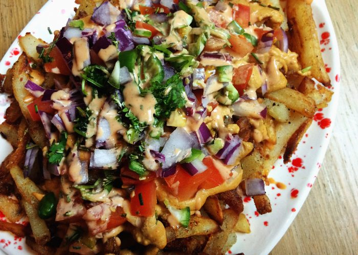 vegan loaded fries