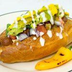 sonoran hot dog vegan