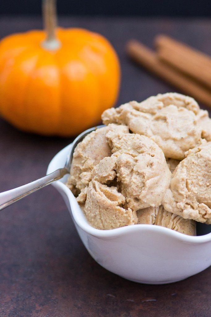 Dairy-Free Spiced Maple Pumpkin Gelato