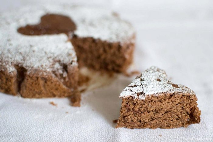 Fluffy Cocoa Cake with Aquafaba