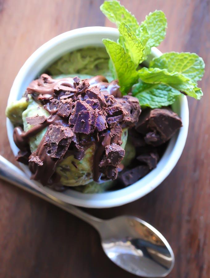 Mint Chocolate Chunk Gelato