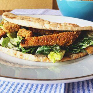 Vegan Chicken Caesar Salad Recipe