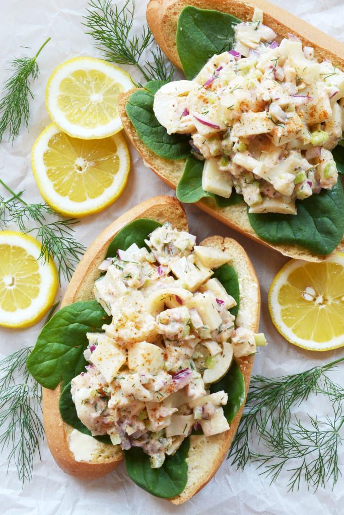 Vegan Lobster Rolls