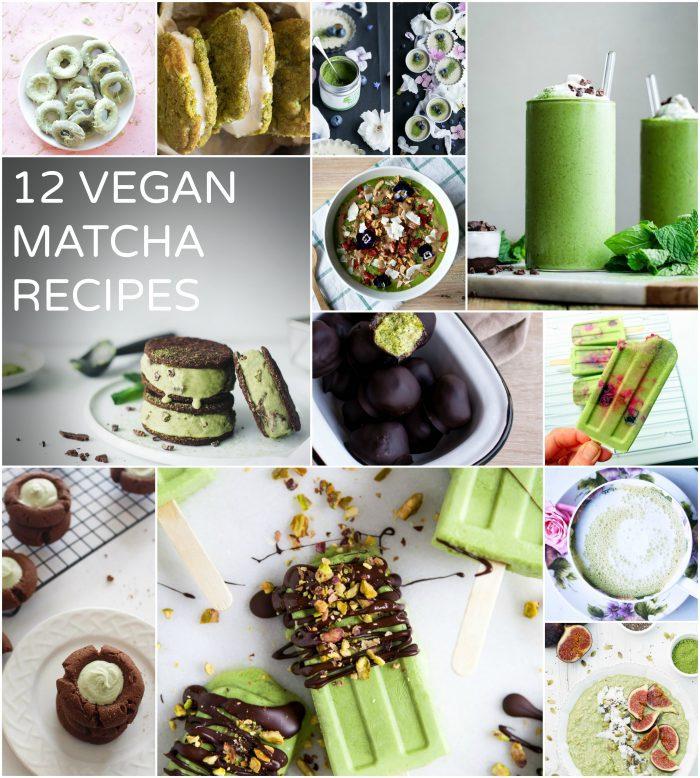 Vegan matcha recipes