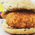 southern style chicken biscuit vegan