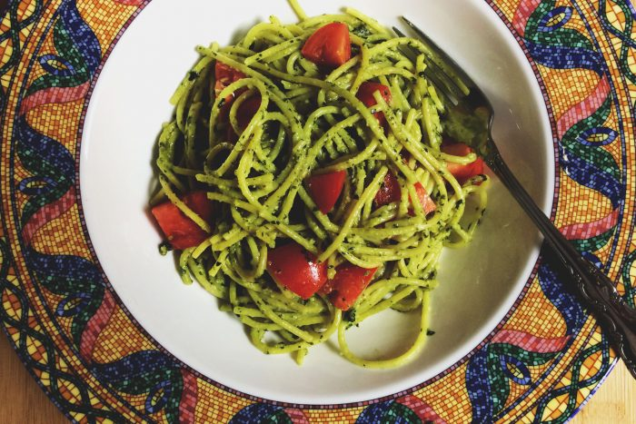 vegan pesto recipe