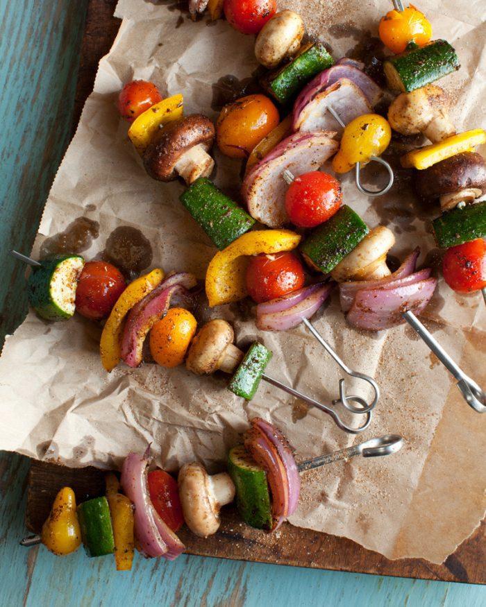 Jamaican Jerk Vegetable Skewers