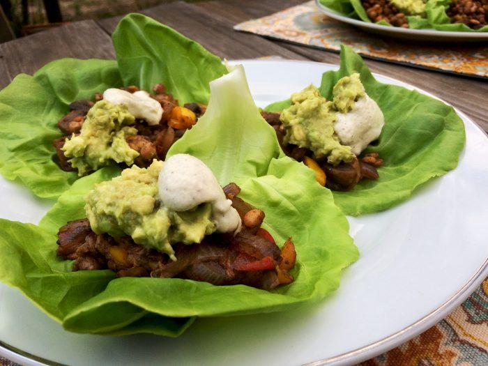 Low Carb Tempeh Tacos