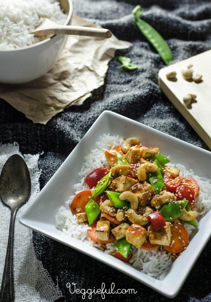 Sweet and Sour Tofu