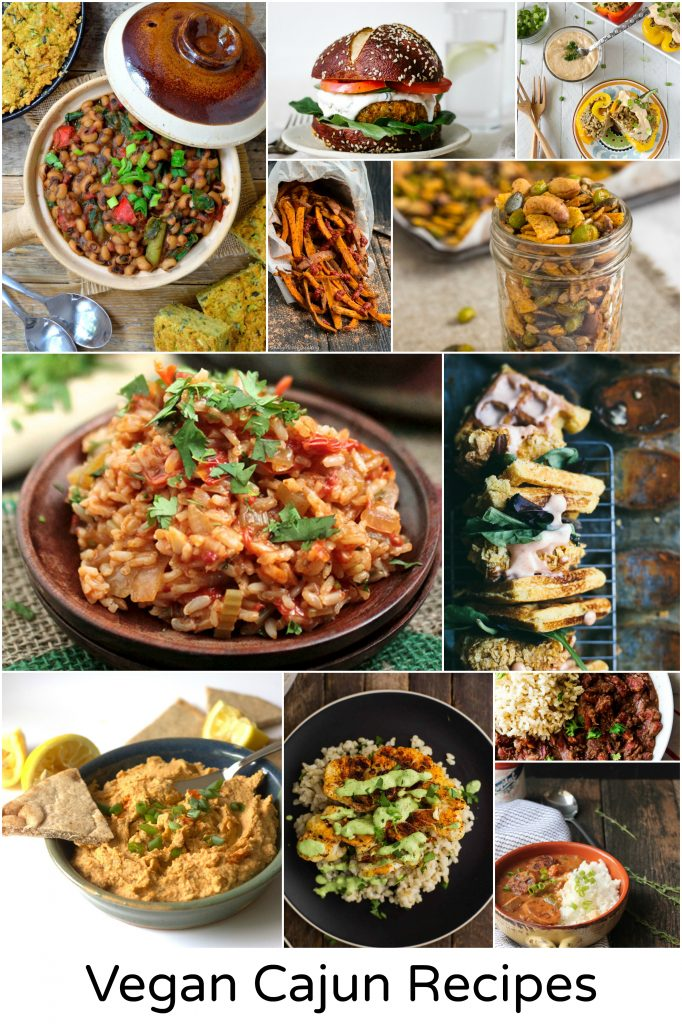 vegan cajun recipes