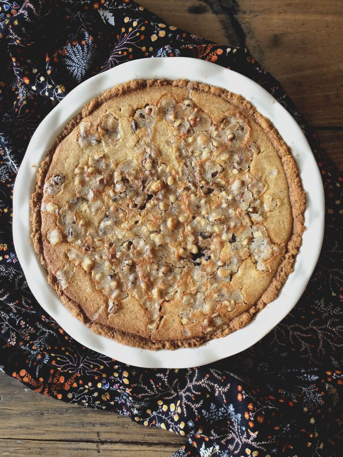 Caramel Walnut Cheesecak