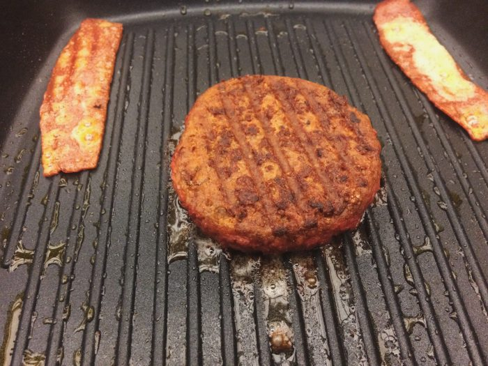Copycat Checkers Champ Burger and Fries Vegan Recipe