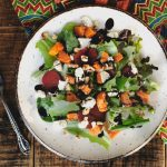 Butternut Squash Salad with Vegan Feta